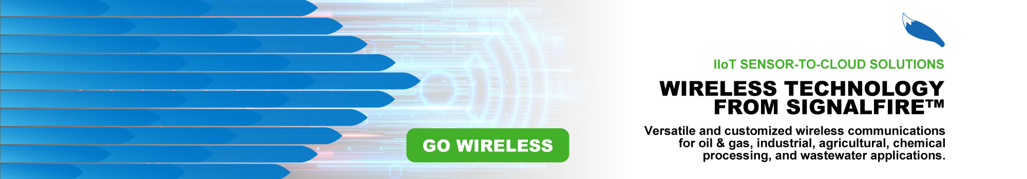 Check out the wireless solutions for IIoT from SignalFire Wireless Telemetry